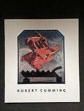 Robert Cumming exhibition catalog artist Castelli Graphics
