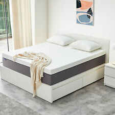 Molblly 10in Memory Foam Mattress Supportive Bed In a Box Full Queen King Size