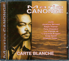 MARIO CANONGE  carte blanche
