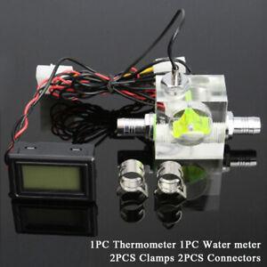 Wasserkühlung Durchflussmesser Acryl G1 / 4 '' Durchflussanzeiger 3 Wege