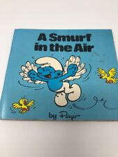 A Smurf In The Air Vintage Mini Storybook 1980 By Peyo