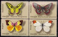 RJames: US 1712-1715, 1715a Butterflies setenent , MNH