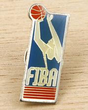 FIBA International Basketball Federation 1990 Vintage Pin