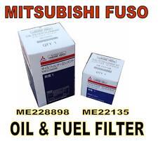 MITSUBISHI FUSO OIL & FUEL FILTERS (ME228898  ME222135) FILTER KIT