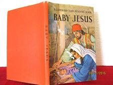 Ladybird Easy Reading Book BABY JESUS c1961 HCDJ  illus by Clive Uptton