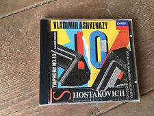 Shostakovich Symphony No.10 Chamber Symphony CD, London 028943302821 Audio