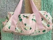 """""""Bando"""" Ban.do Pink Rose Duffel Bag Lady Leisure Work It Out Gym Bag TOO CUTE !!"""