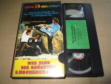 VHS - WIR SIND DIE GRÖSSTEN KNOCHENBRECHER - Atlas Glasbox