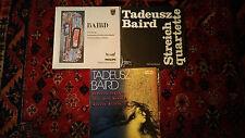 TADEUSZ BAIRD-3 LP'S-FOUR ESSAYS-IMP-PHILIPS-835265AY-POLSKIE SX1576-COL 0648-NM