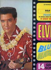 ELVIS PRESLEY blue hawaii GERMAN 1981 EX+ LP