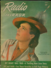 Radio &TV Mirror April 1942 Magazine 16th Superman in Radio serial with art.