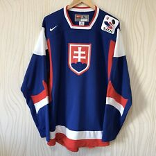 SLOVAKIA NATIONAL TEAM ICE HOCKEY SHIRT JERSEY NIKE TRIKOT