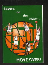 Jennifer Azzi--1997-98 San Jose Lasers Schedule--Coherent