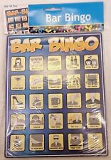 Bar Bingo Drinking Game - Fun Bar Crawl Party Game - Qty. 24 Bingo Cards