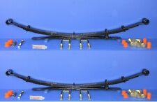 Suspension Leaf Spring Kit Rear Pair (3+1 Leaf) for Nissan Navara 4x4 D40
