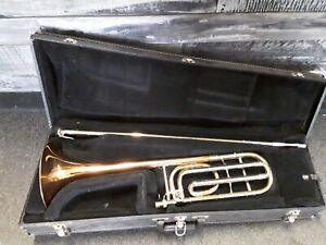 Olds NR25 Copper Brass Trigger Trombone