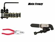 Tusk Chain Press Heavy Duty Breaker & Master Link Pliers Tool Kit ATV Motorcycle