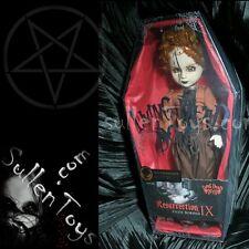 Living Dead Dolls Lizzie Borden Variant Resurrection Sepia Res Doll Series 9 New