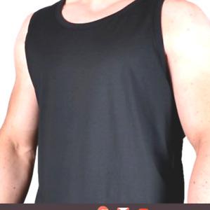 Large Mens Espionage Top Quality  Work/Sports Vest  6XL 7XL -8XL