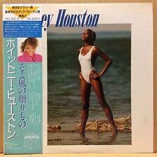 WHITNEY HOUSTON / S/T LP w/OBI Insert Orig JAPAN ISSUE