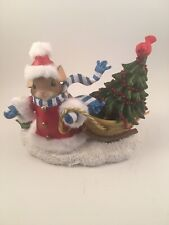 charming tails - bundled up for the season figurine - item # 98/433