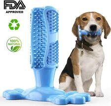 Dog Pet Toothbrush Toy Clean Teeth Brushing Stick Brush Mouth Chewing Clean UK