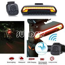 HI-Q Bicycle Bike Cycling Bicycle Laser Tail Turn Brake Signal Light Indicator