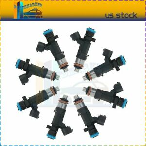 8 Fuel Injectors For 2014 2013 2012 2010 2011 2009 2008 2007 2006 Xterra 4.0L
