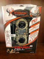 8891 Wildgame Innovations Crush Cell 8 Lightsout Trail Camera Realtree Xtra C8B5