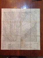 Cartina Roma 1925 Casale della Marcigliana Telata Istituto Geografico Militare