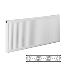 Double Panel 700mm High x 900mm Long Type 22 Central Heating Compact Radiator