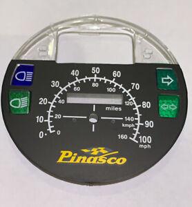 VESPA PX 125 150 200 EFL 1984-1999 -  100 MPH PINASCO Speedo Face Kit