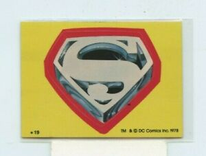 1980 Topps Superman II Puzzle Stickers #19