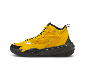 Puma Dreamer RS 2 Mid J Cole Yellow Black Basketball January 28th 194849-02 Size