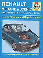 Haynes 3395 Manual for Renault Megane 1996-1999 & Scenic 1997-1999