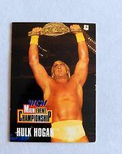 Hulk Hogan Main Event WCW Classic Wrestling Trading Card wwe nxt wrestler WWE