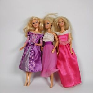 Set of 3 Barbie Dolls 1999 Mattel clothed GC free delivery vintage late 90's