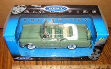 1953 PACKARD CARIBBEAN Convertible 1:24 Collector Car Welly 24016 Green Die Cast