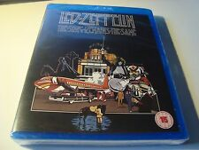 RAR BLU-RAY. LED ZEPPELIN. THE SONG REMAINS THE SAME. SEALED. PRECINTADO