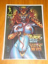 TAROT #9 COVER B WITCH OF THE BLACK ROSE JIM BALENT BROADSWORD COMICS