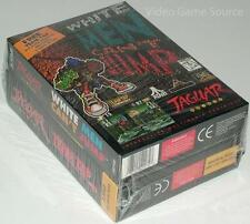 Atari Jaguar Game Cartridge: # White Man Can 't jump + equipo tap # * nuevo/Brand New