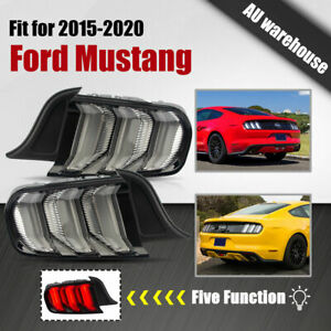 5 Modes Tail Lights for 2015-2020 Ford Mustang FM FN GT S550 LED Sequential