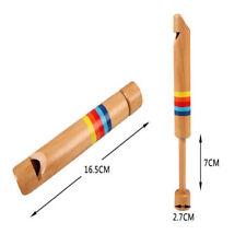 Unisex Draw Wooden Flute Children Toy Hot Sales Durable Musical Instrument AA