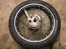 greeves front wheel, triumph, bsa, matchless, ajs, norton