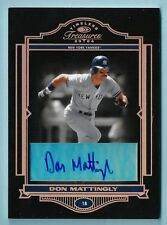 DON MATTINGLY 2004 TIMELESS TREASURES SIGNATURE AUTOGRAPH AUTO /50 YANKEES