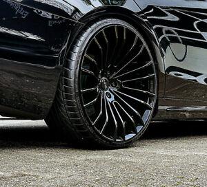 Pristus Felgen 9,5 22 Zoll Range Rover Velar Evoque Sommerräder schwarz grau