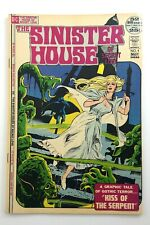 Vintage 1972 Sinister House Of Secret Love Kiss Serpent Number 4 DC Comics P977