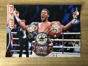 Anthony Joshua Boxing Signed Photo