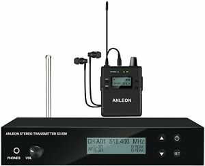 ANLEON S3 Wireless in-Ear Monitor System for Band Live Performance  IEM System