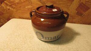 Antique Omar Flour Omaha, Neb. Crock No. 2